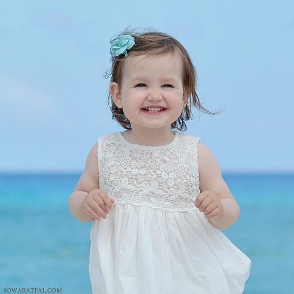خروس بافتنی دومیل زیبا صور اجمل اطفال بنات