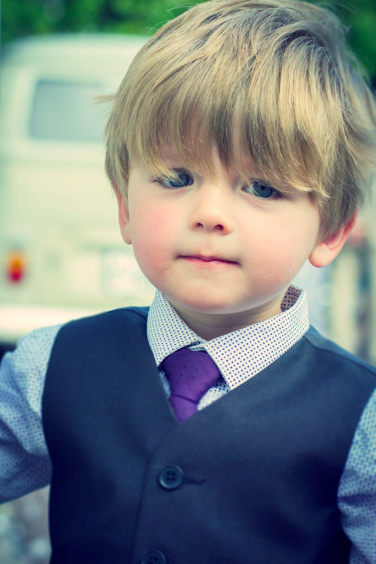 صوره لطفل بشعر حلو