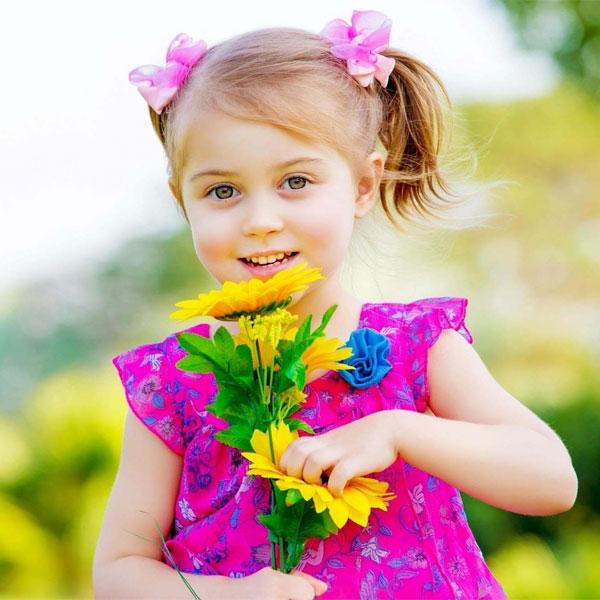 صور أطفال بنات للتصميم - صور أطفال
